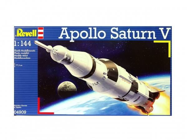 04909 Revell Американская ракета-носитель Apollo Saturn V (1:144)
