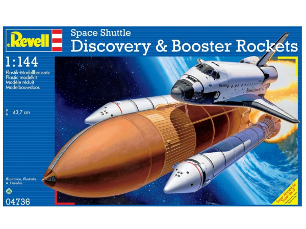 04736 Revell Шаттл Discovery (1:144)