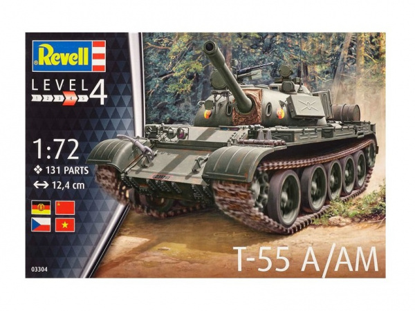 03304 Revell Танк T-55 A/AM (1:72)