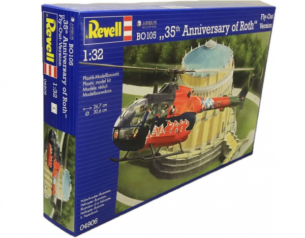 04906 Revell Вертолет Anniversary of Roth Fly-Out Version (1:32)