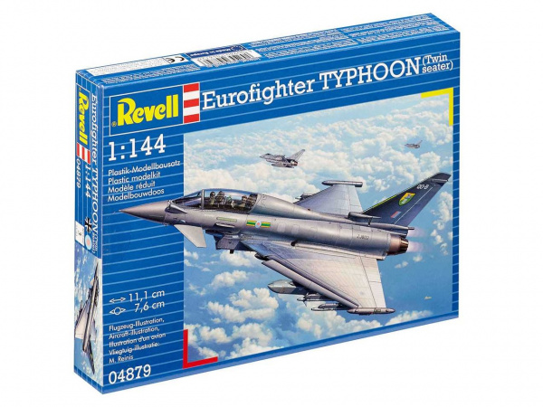 04879 Revell Самолет Eurofighter Typhoon Twin seater (1:144)