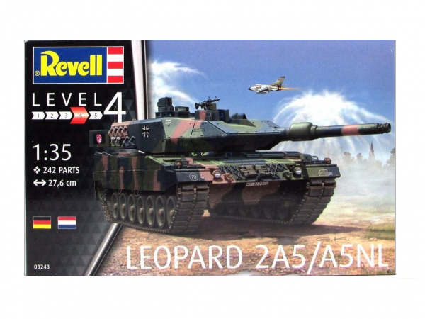 03243 Revell Танк Leopard 2A5/A5NL (1:35)