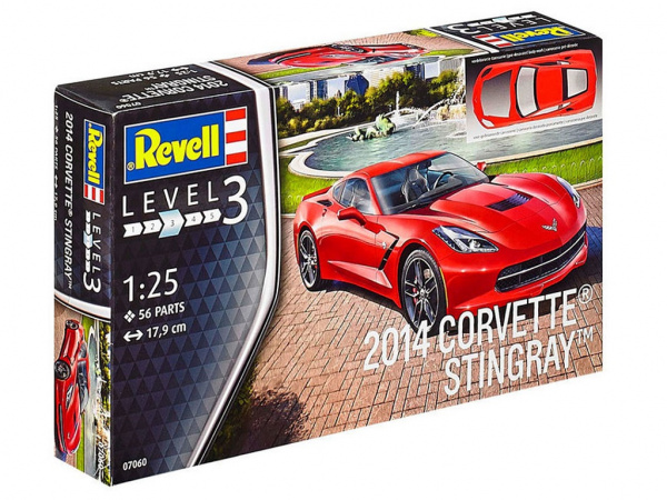 07060 Revell Автомобиль Corvette Stingray (1:25)