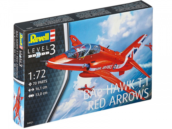 04921 Revell Самолет Hawk T1 Red Arrows (1:72)
