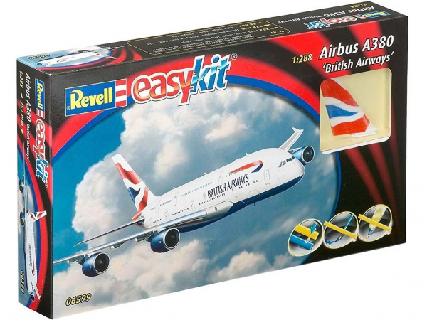 06599 Revell Пассажирский самолет Airbus A380 (1:288)