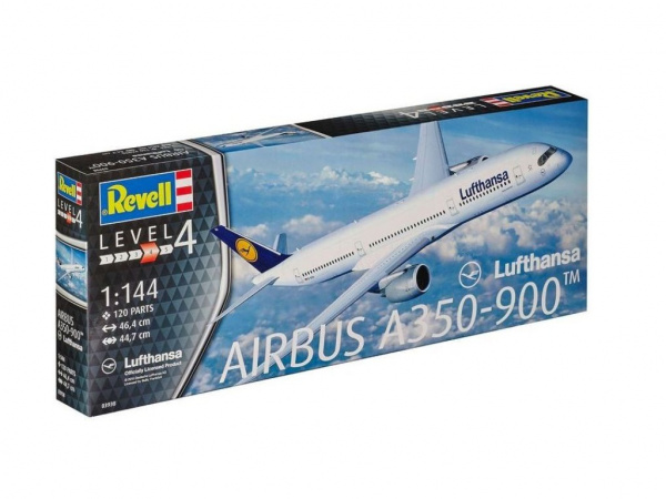 03938 Revell Самолет Airbus A350-900 (1:144)