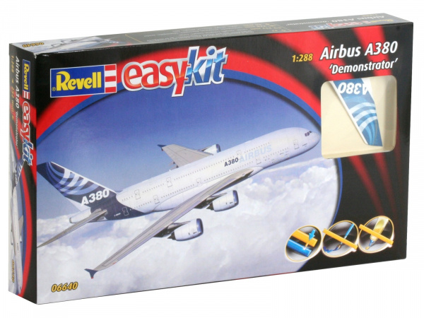"06640 Revell Самолет Airbus A380 ""Demonstrator"" (1:288)"