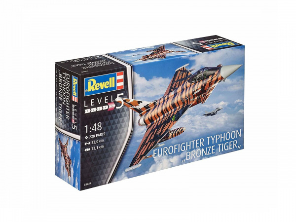 03949 Revell Истребитель Eurofighter Bronze Tiger (1:48)