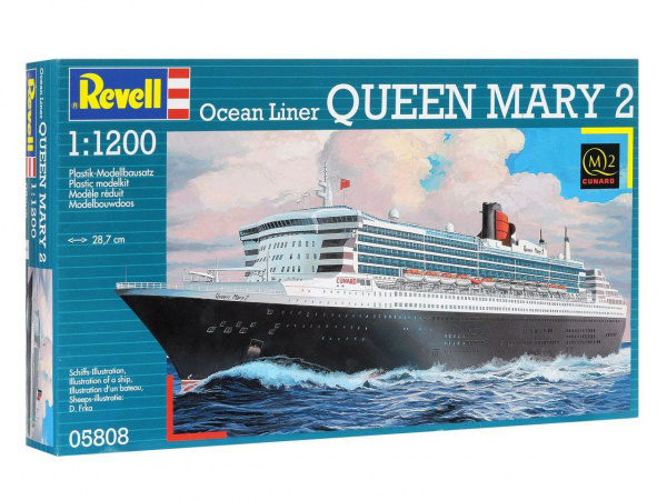 05808 Revell Пароход Queen Mary 2 (1:1200)
