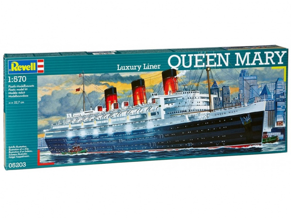 05203 Revell Лайнер Queen Mary (1:570)