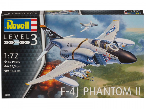 03941 Revell Самолет F-4J Phantom US Navy (1:72)